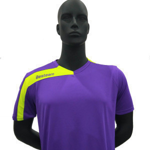 Best selling soccer uniform  game jersey with custom club logo and name