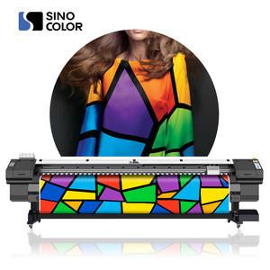 Factory price 3.2m i3200 4720 Heads Fast Speed 46sqm/h 1440dpi heat transfer paper Textildye sublimation plotter printer WJ-1260