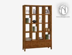 High Quality Teak Wood Book Shelf Home Furniture