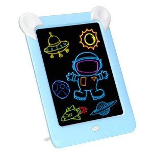 Hot 2020 glowing 3d magic flashing magic led drawing board pad