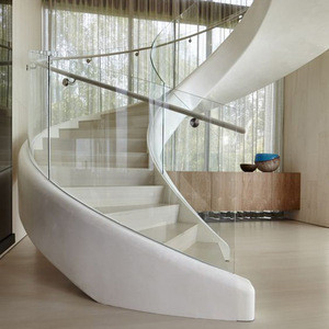 Hot Sell Stainless Steel Curved Safety Stair