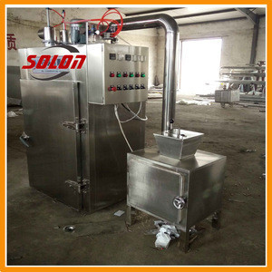 Hot selling solon high efficiency smoker for meat and fish china