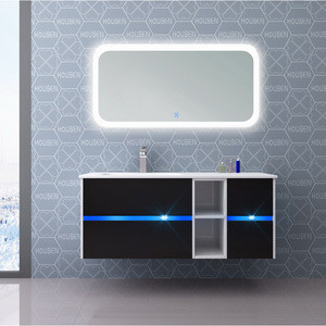 HOUSEN Best Selling PVC Bathroom Furniture Cabinet Home Use Free Standing