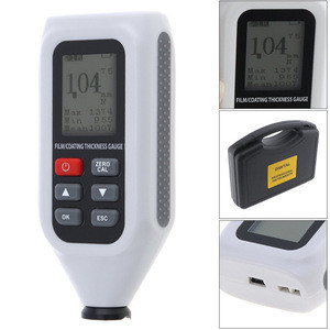 HT-128 Paint Coating Thickness Gauge car paint meter thickness meter Width Measuring Instruments Metal Thickness Measurement