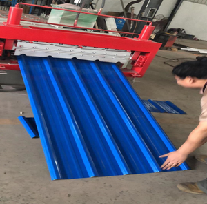 Hydraulic Low Price double layer roof roll forming machine
