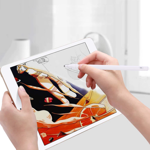 Magnetic drawing touching pencil for iPad Capacitive Active Stylus Pen rechargeable