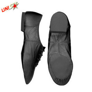New Fashionable Leather ballet dance shoes