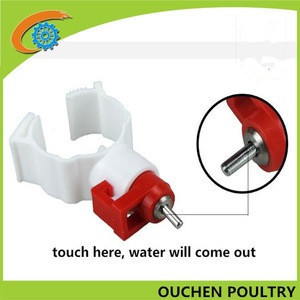 OUCHEN cheap chicken animal drinkers nipple drinkers for poultry in nigeria