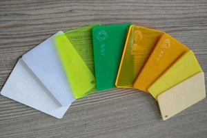 PMMA/ABS/PVC acrylic sheet clear colorful plastic panel