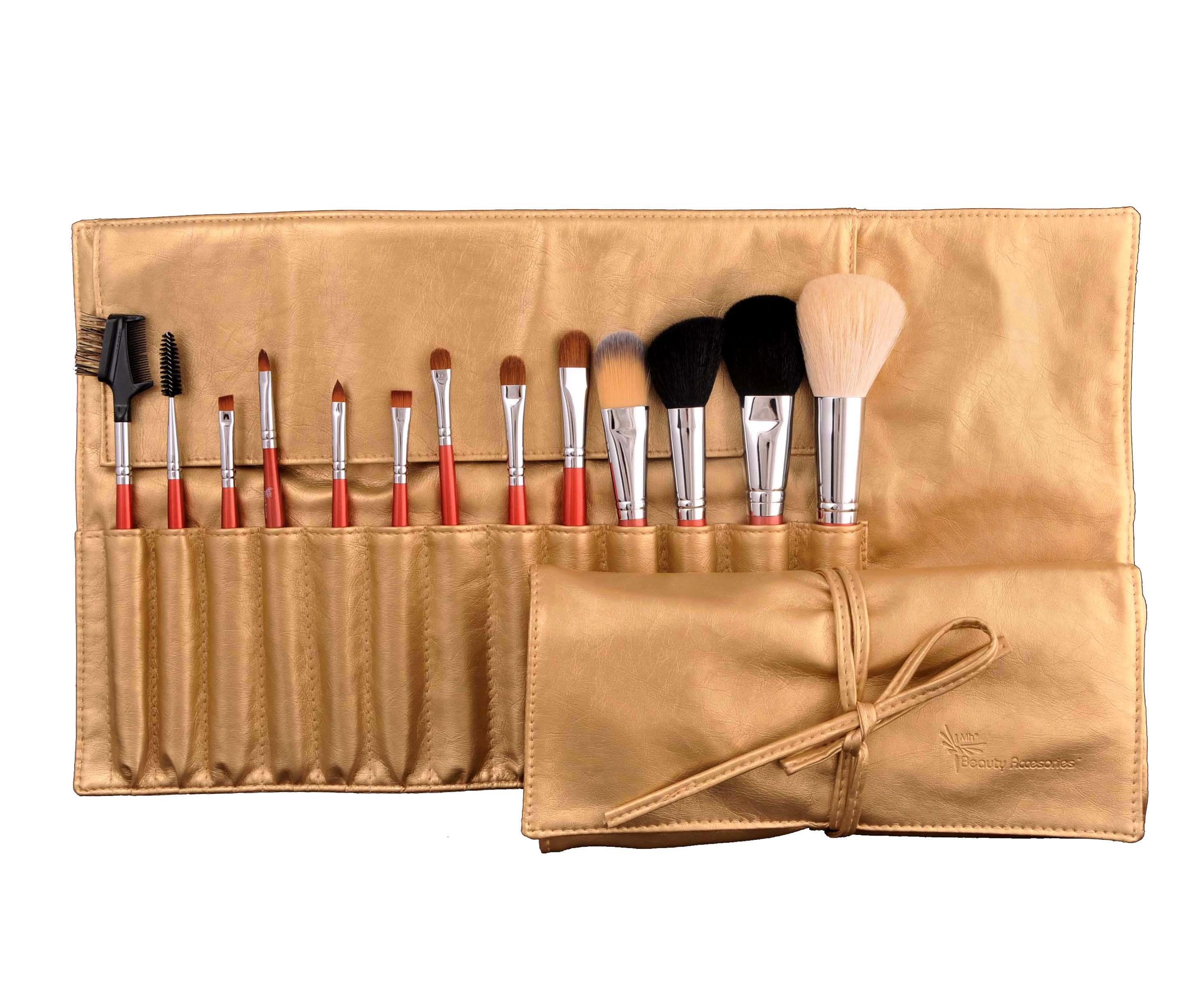 Professional Makeup Brush with Cosmetics Bag