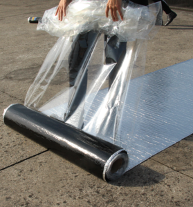 Pvc waterproof membrane for roofs
