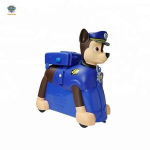 RIDE ON SUITCASE KIDS LUGGAGE ANIMAL SHAPE TOY