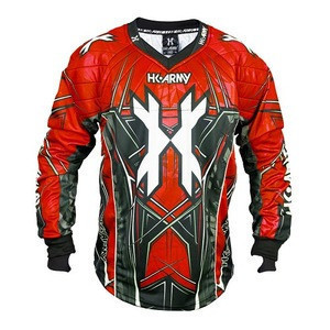 Sublimation print alongwith inner padding OEM design Paintball Jersey