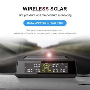 Support OEM and ODM Bus and Trailer Tire Pressure Gauge TPMS Pressure Monitoring System Solar Charging