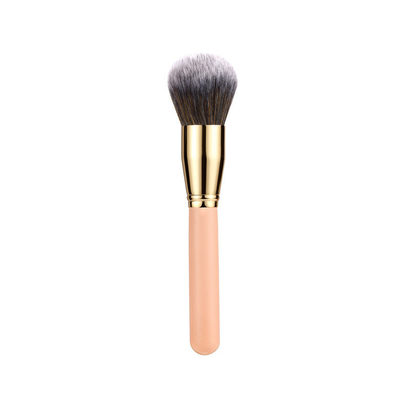 Synthetic Hair Makup Brush Set Wood Handle