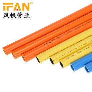 Underfloor heating pipe 16mm 20mm PEX AL PEX pipe high strength pex aluminum tubes plumbing tubes for hot cold water gas