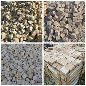 Wholesale Low Cost China Granite Paving Stone Driveway Granite Paving Stone
