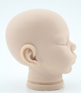 Wholesale price silicone vinyl baby delivery kit manufacture 20-22 inches vinyl doll heads and hands