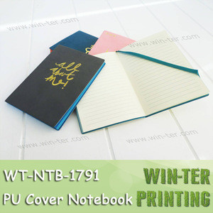WT-NTB-1791 Soft cover book with debossed details personalized notebook