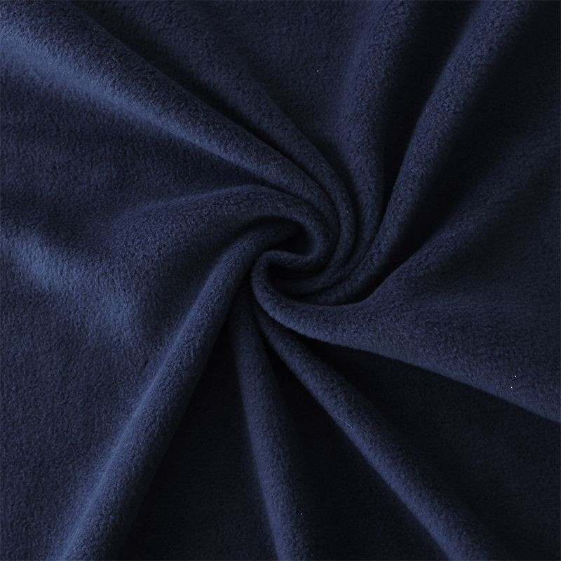 polar fleece fabric dyed or printed for cloth quilts