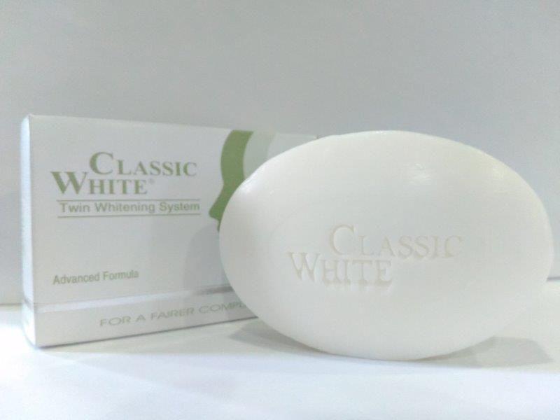 CLASSIC WHITE - SKIN WHITENING SOAP