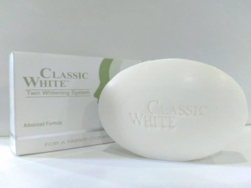 Import CLASSIC WHITE - SKIN WHITENING SOAP from Indonesia