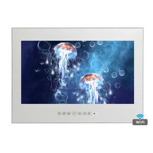 "15.6"" Mirror Smart Waterproof LED Shower TV Salon Frameless Bathroom TV"