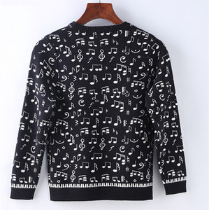 2017 new design custom fancy Christmas boy jumpers sweaters
