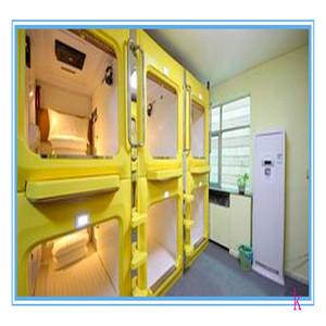 2019 bespoke Popular space capsule hotel bunk bed capsule