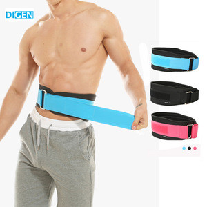 2019 new products adjustable neoprene lumbar waist lower back support brace sports with private label
