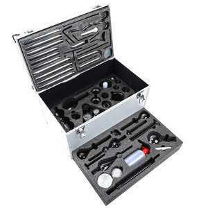 2020 new design Aluminum alloy packaging laboratory glassware chemistry kit used in various experiment
