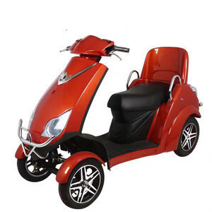 Adult four wheels electric scooter Handicapped mobility scooter Disabled scooter