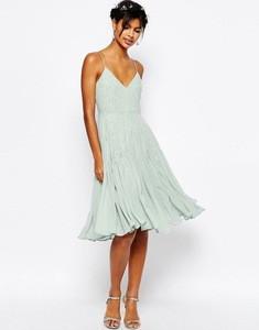 wholesale slim fit v-neck & off shoulder wedding bridesmaid embellished Cami Midi dresses 2016