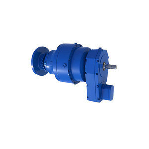 Brushless motor with gear box adopts involute planetary gear transmission