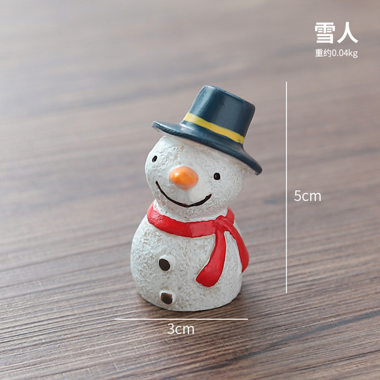 Christmas resin crafts  ornaments home decorations