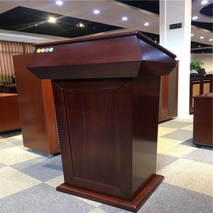 Classical Wooden Furniture Lectern Designs Talking Table Specifications