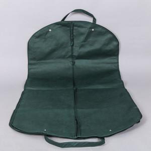 Custom Colorful Dustproof Foldable Coat Cover non woven garment suit bag
