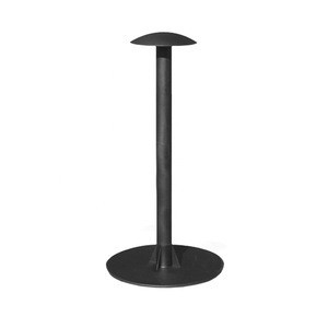 Customized High Quality Stamping Welding Black Powder Coating Metal Boat Cover Support Pole
