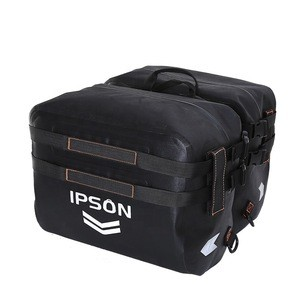 Customized outdoor  waterproof motorcycle pannier bag  saddle bag  tail bag