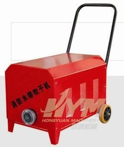 Fire fighting hose drying machine