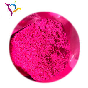 Fluorescent pigment red /yellow /green/  blue /violet high heat resistance for color masterbatch
