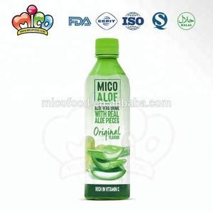 Fresh cool natural Aloe Soft Drink new original Aloe Vera Drink