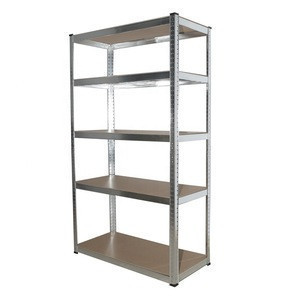 FSC certificate 100kg capacity boltless shelves storage rack corner rack
