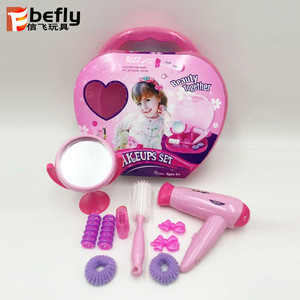 Funny girls beauty plastic hair dryer princess toy accessory
