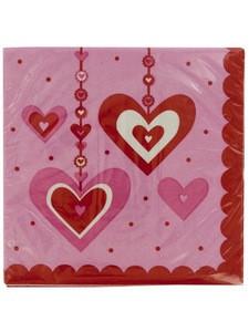 Heart Dazzler Napkins Set
