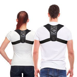 High quality adjustable comfortable back support shoulder clavicle upper brace posture corrector for women or man