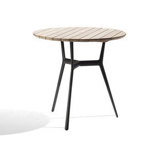 High quality modern garden dining set  teak wood top patio table and chair outdoor table furniture