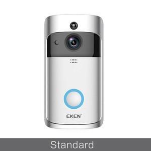 Hot Selling EKEN V5 Smart Call Visual Recording Video Doorbell Night Vision Wireless WiFi Security Monitor Intercom Doorbell