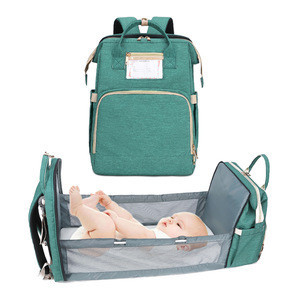 Large Capacity Portable Baby Diaper Bag Backpack Mummy Bag For Outdoor
