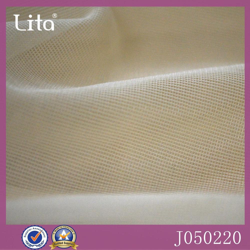 Lita J050220# 100% nylon mesh fabric good quality net fabric tulle for bra lining padded